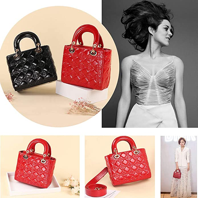 14a0188b9d3c Amazon.com  Olyphy Designer Patent Leather Top Handle Handbag for Women