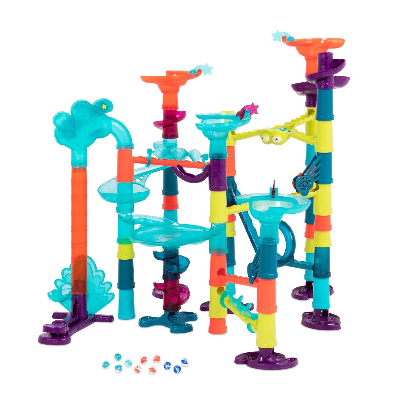 B. Toys - Marble Palooza - Light-Up Marble Run 62pcs