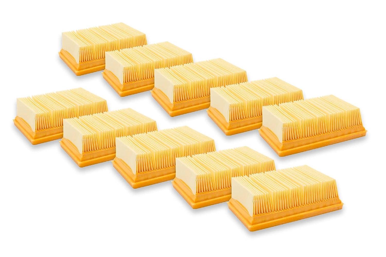 vhbw Flachfaltenfilter Filter fü r Staubsauger Saugroboter Mehrzwecksauger wie Kä rcher 2.863-005.0