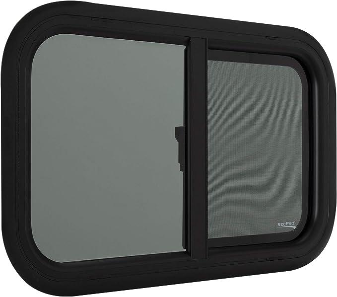 RecPro RV Window Teardrop Horizontal Slide