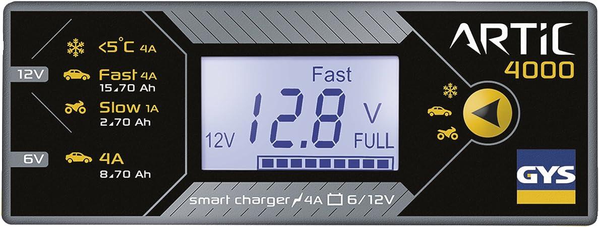 Gys 029705 Artic 4000 Battery Charger Uk Plug Auto