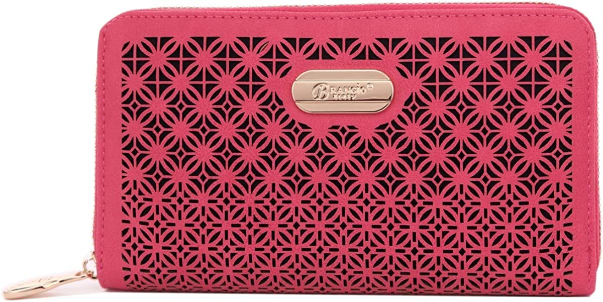Verona H /& L Womens Royal Fences Wallet