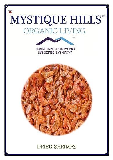 Mystique Hills - Organic Living Dried Shrimp, 500 g