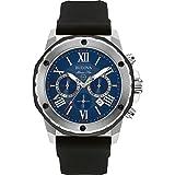 Bulova Marine Star - Montre de créateur - pour homme - chronographe/étanche - bracelet en caoutchouc