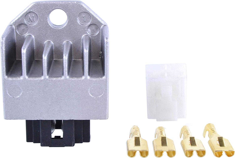 Voltage Regulator For Honda CRF150F CRF230F Elite SH SR 50 100 //// Aprilia SR 50 Ditech//Mojito 1993-2017 Repl.# AP8224102 31600-GAG-K21 31600-GBL-871 CRM CT NSR PK SFX SGX SJ SK SRX SZX CG 90 125