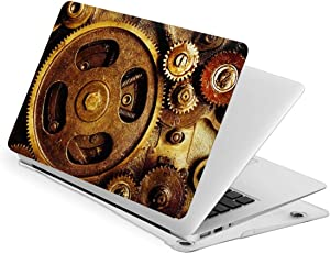 Gear Steampunk Vintage MacBook Air 13 Inch Case 2020 2019 2018 Release A1932, A2179, Hard Shell Protective Case Cover for Apple Laptop MacBook Air 13 Retina with Touch Id