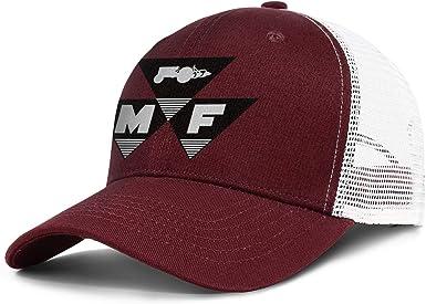 Mens Womens Washed Baseball Cap Stylish Hip Hop Hat Heart Wolf Massey-Ferguson-Logo