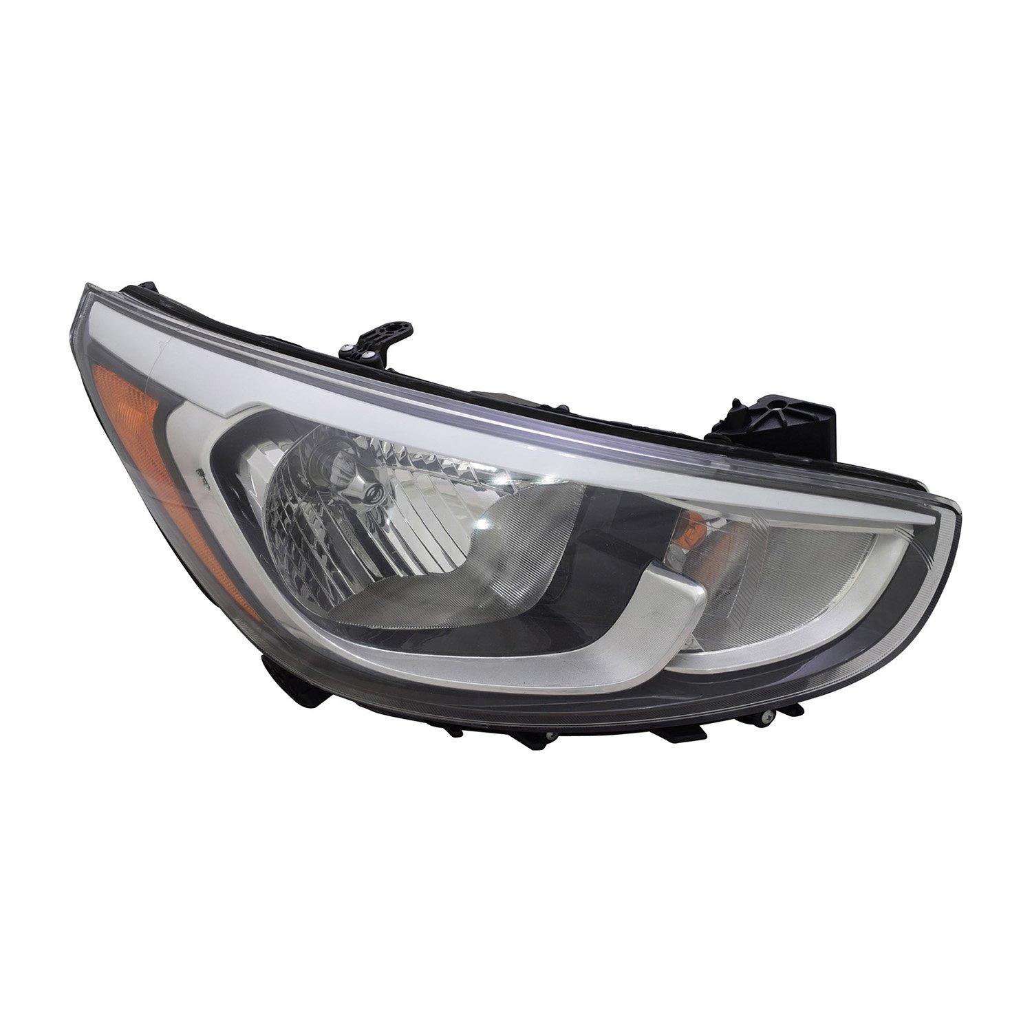 Partslink Number HY2503192 Multiple Manufacturers HY2503192R OE Replacement HYUNDAI ACCENT/_HATCHBACK Headlight Assembly