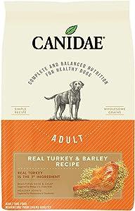 CANIDAE Adult Turkey & Barley Dry Dog Food, 7 lbs.