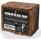 Best Raw ORGANIC AFRICAN BLACK SOAP, for Dry Skin and Skin Conditions. Pure & Natural Ingredients, Imported From Ghana…