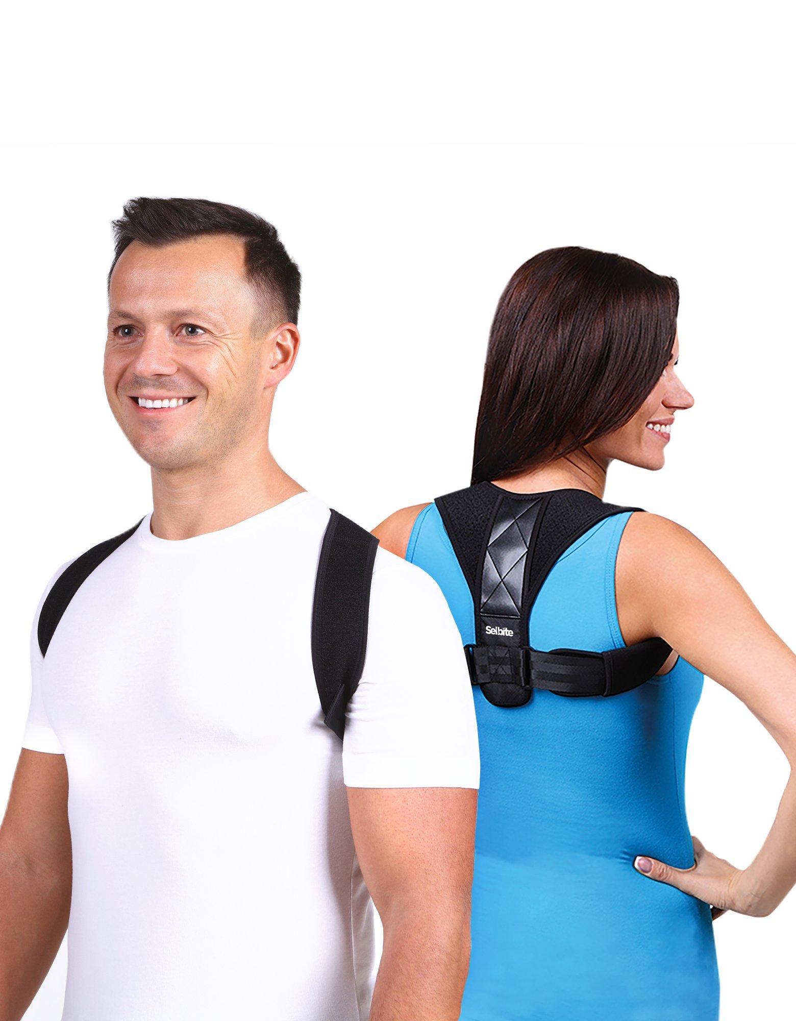 Back Posture Corrector for Men Women - Effective Posture Corrector Upper Back Straightener - Adjustable Posture Brace - Back Brace - Lightweight and Comfortable for Improving Posture