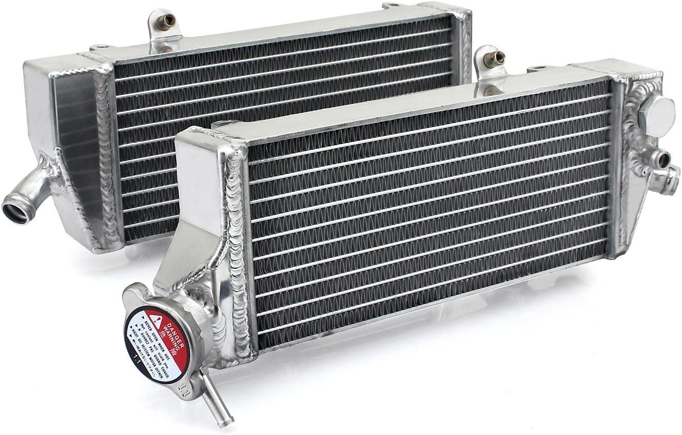 TARAZON Wasserk/ühler K/ühler passende 250 350 EXC-F XCF-W 450 500 XC-W EXC500 12-16