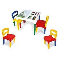 Mesa Mesinha Infantil Didática Com 4 Cadeiras - Poliplac Sortido