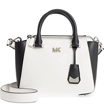 f8175b90d8db52 Amazon.com: MICHAEL Michael Kors Nolita Mini Leather Bag , Optic ...