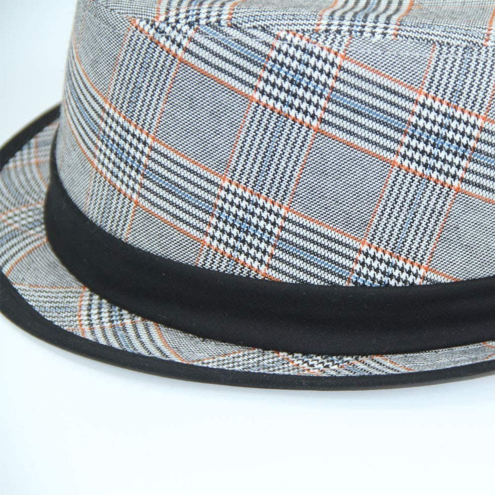 Fore! Axel /& Boys Shaped Hat Plaid Fedora