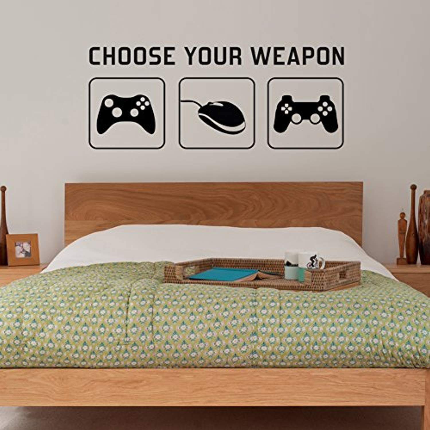 Amazon Com Wall Vinyl Decal Your Weapon Video Game Gaming Mural Kids Children Teenager Teens Bedroom Man Cave Room Ideas Canvas Home Controllers Decor Sticker Art Print Tt10003