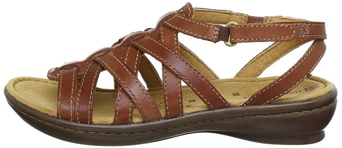 116efec9b185e2 Naturalizer JAMBOREE Sandals Womens Brown Braun (cognac) Size  3.5 (36 EU)   Amazon.co.uk  Shoes   Bags