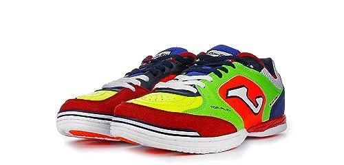 ZAPATILLA FUTBOL SALA JOMA TOP FLEX MULTICOLOR - 40: Amazon.es: Zapatos y complementos