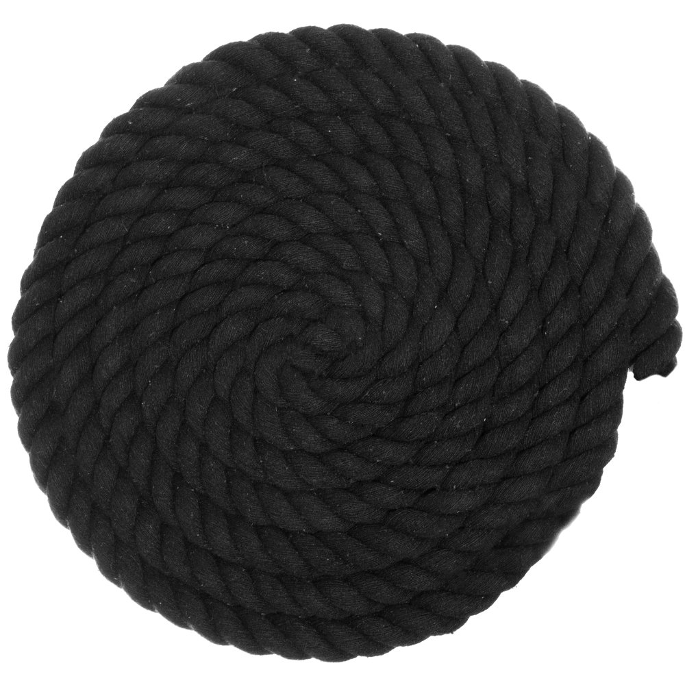 DIY Crafting Variety of Colors Great for Home Decoration and Much More West Coast Paracord Custom Art Super Soft 3 Strand Twisted Cotton Rope Multiple Diameters