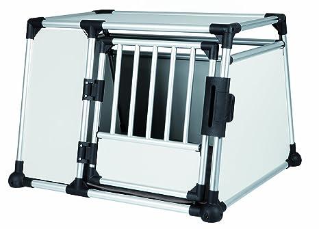 Jaula Transporte, Aluminio, 93x65x81 cm: Amazon.es: Productos para ...