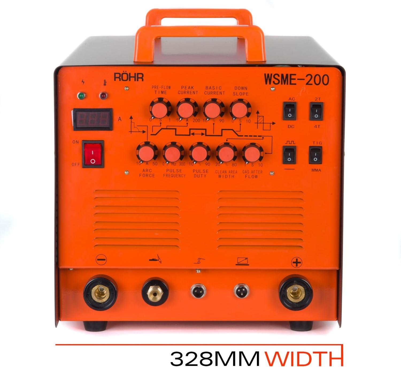 Soldador Inverter Röhr WSME-200