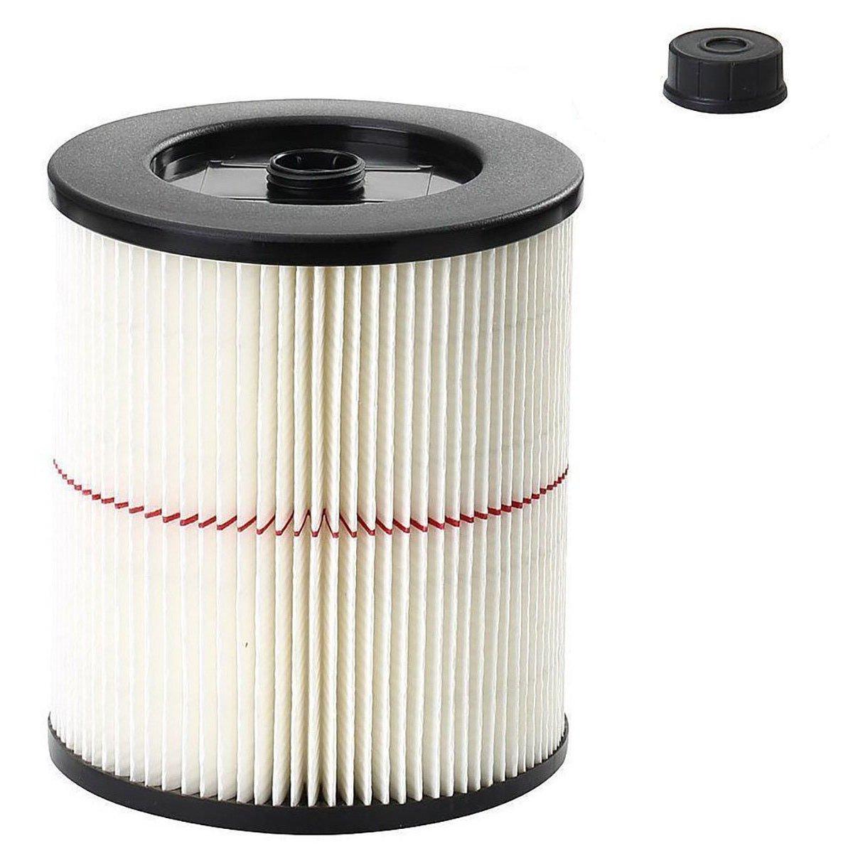 VACFIT Filter for Shop VAC & Craftsman 17816 9-17816 Replacement Cartridge Filter for Craftsman Wet Dry VAC 5 and Larger Gallon Vacuum Cleaner Accessories 1 Pack