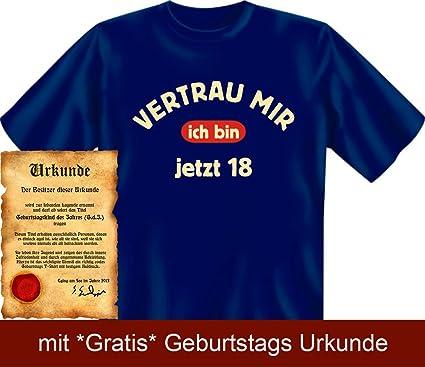 Lustige Spruche Fun Tshirt Vertrau Mir Ich Bin Jetzt 18