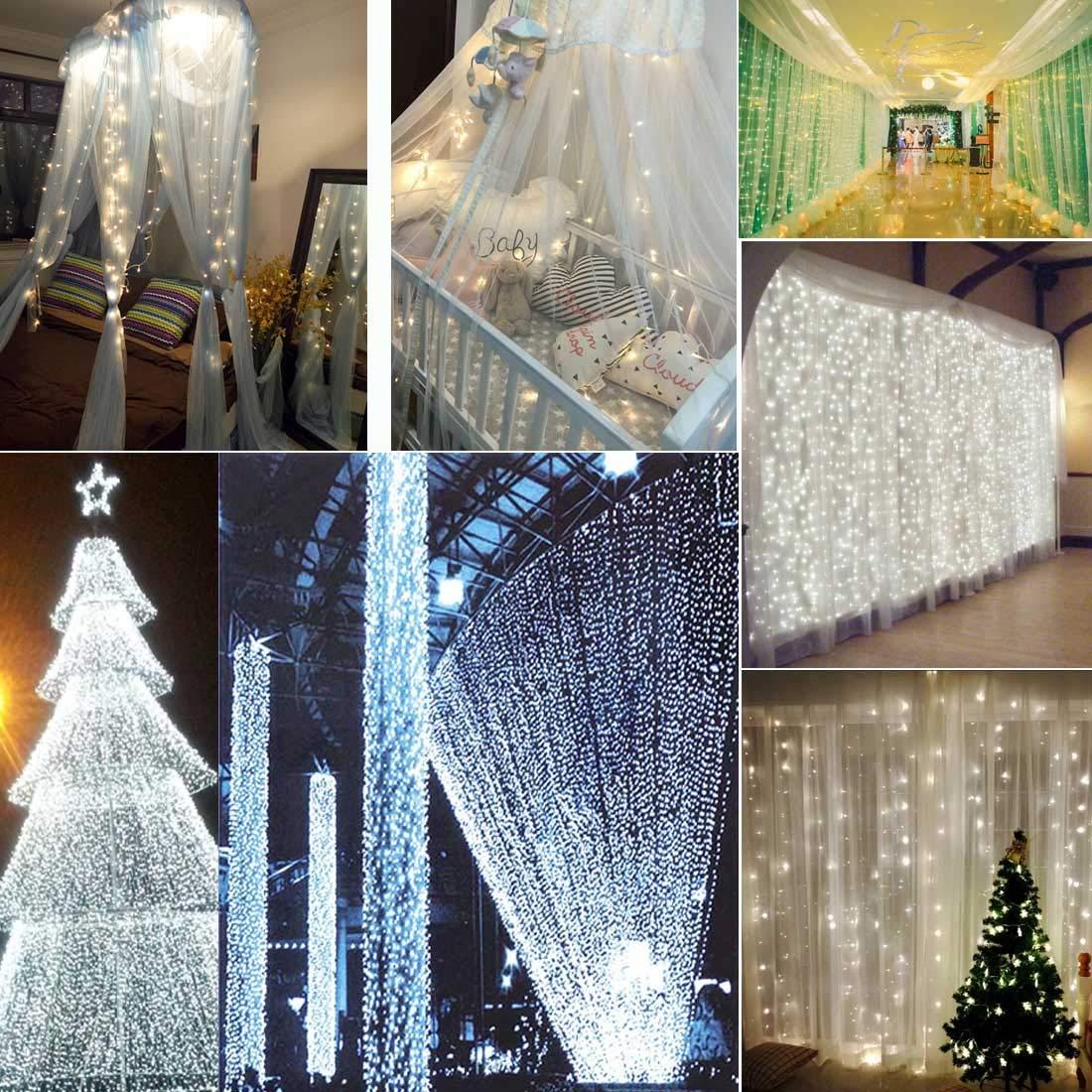 fb8ca3c9bde Luz led al Aire Libre Luces Luces Luces de decoración de Cadena de Alambre  de Cobre de 10m ...