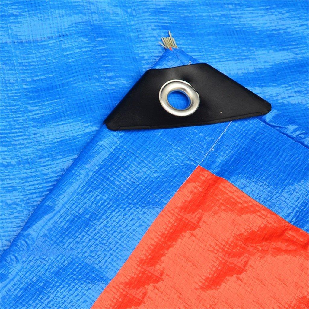 YUJIE Tela Impermeabilizzante in Tela Tela Tela Spessa Impermeabile per Teloni Impermeabili Telone da Esterno Tenda da Pioggia per Tenda da Campeggio, Spessore 0,35 Mm, 160 G   M2, 19 Misure, Blu  Arancione B07HKQVFVV 25   Materiale preferito    Bella Ed Affascina 25816a