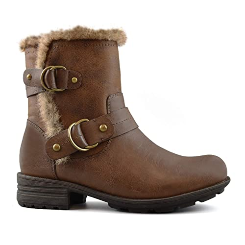 4df644a7e136 Comfy Moda Women s Winter Boots 3M Thinsulate Memory Foam Super Warm Comfy  Wide Fitting Size 12