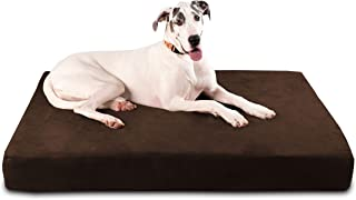 "product image for Big Barker 7"" Pillow Top Orthopedic Dog Bed for Large and Extra Large Breed Dogs (Sleek Edition)"