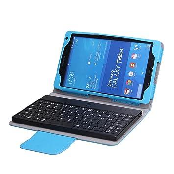 wholesale dealer a806b 64432 NEWSTYLE Samsung Galaxy Tab 4 8.0 Bluetooth Keyboard Portfolio ...