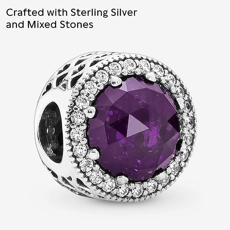 charms violet pandora