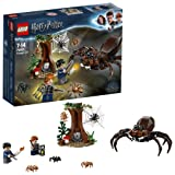 LEGO 75950 Harry Potter Aragog's Lair Building Set, the Forbidden Forest, Spider Web, Wizarding World, Magical Fun Toy