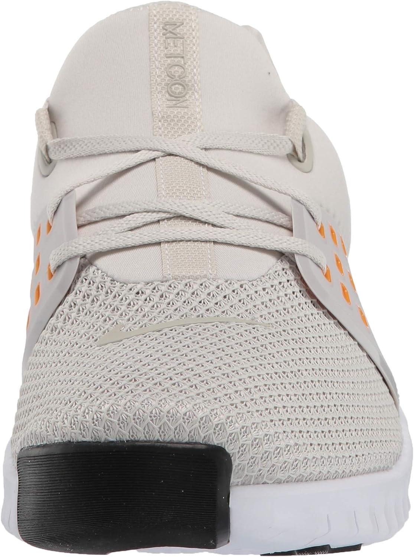 Nike Men's Fitness Shoes Multicolour Light Bone Orange Peel White Black 1