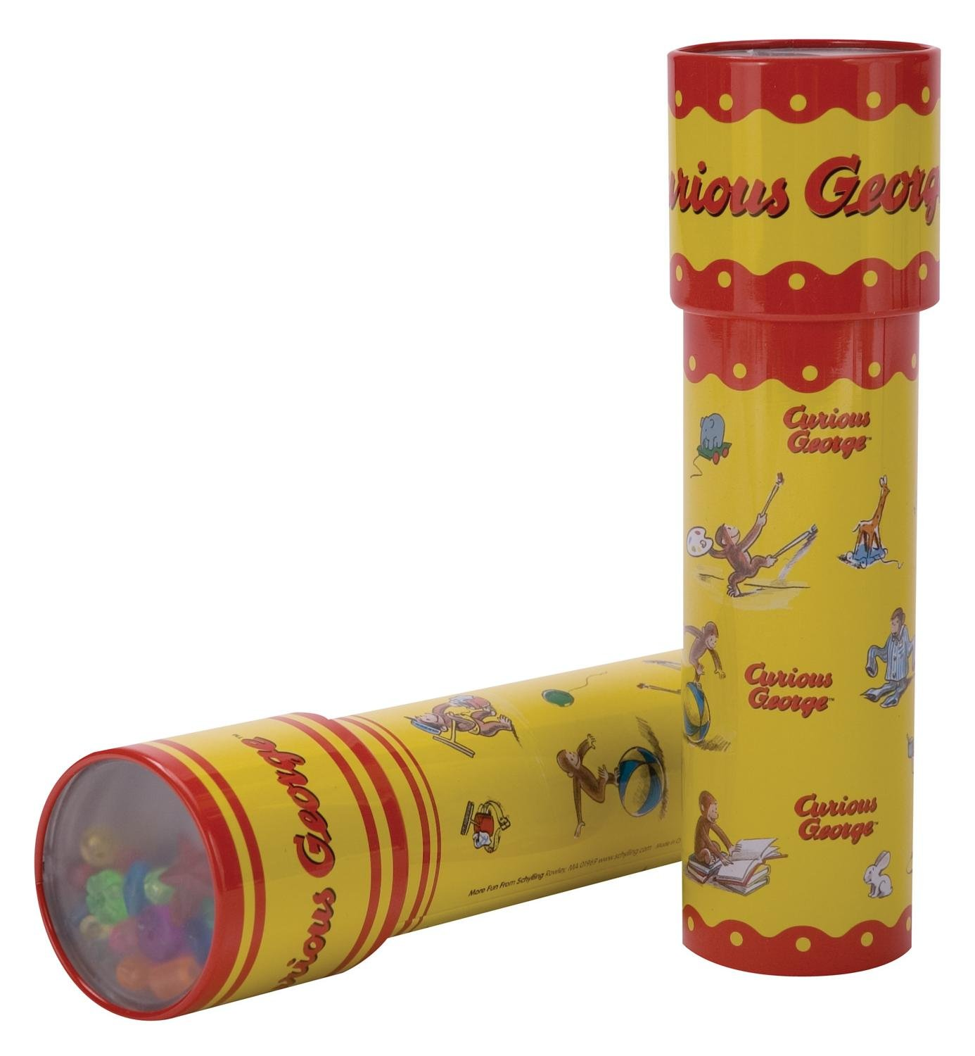 Curious George Tin Kaleidoscope - only one included