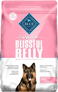 Blue Buffalo True Solutions Blissful Belly Natural Digestive Care Adult Dry Dog Food and Wet Dog Food, Chicken