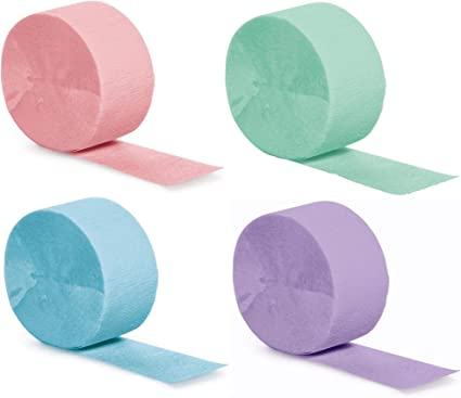 crepe paper Coloured party tissue paper