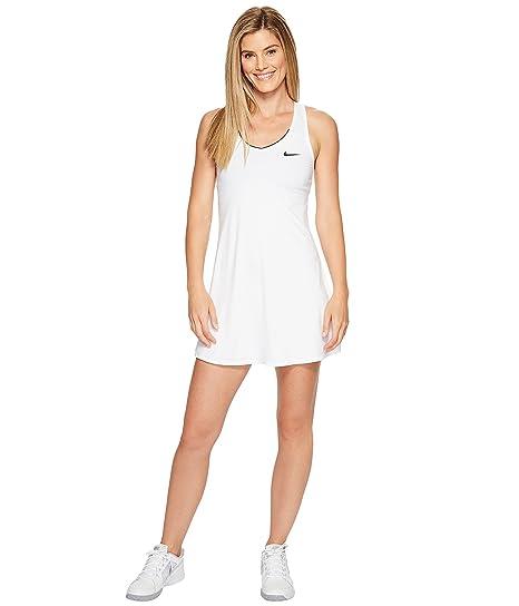 c087798c7 Nike Women's Court Dry Tennis Dress White/White/White/Black Small