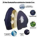 Memory Foam Lumbar Support Back Cushion,Ergonomic