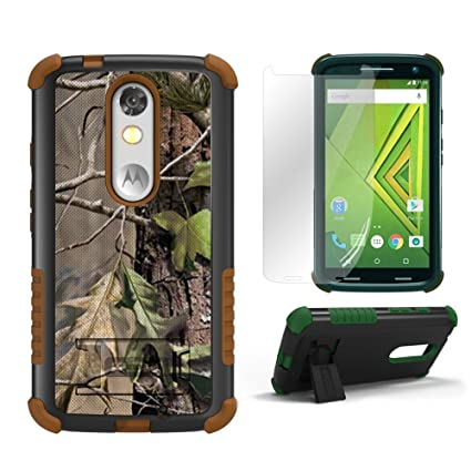 Marvelous Droid Turbo 2 Cases,Kinzie XT1585 Beyond Cell[Dirtproof]High Impact Armor  Hybrid