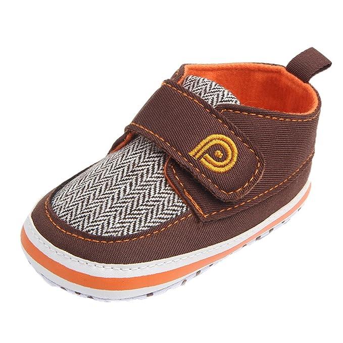 ❤ Zapatos Antideslizantes Bebé recién Nacido,Niños Suela Infantil con Cordones de Lona para niños pequeños Absolute: Amazon.es: Ropa y accesorios