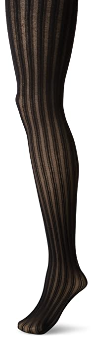 Steampunk Leggings, Tights, Stockings & Socks  Plus Size Easy on Vertical Stripe Tight $16.00 AT vintagedancer.com