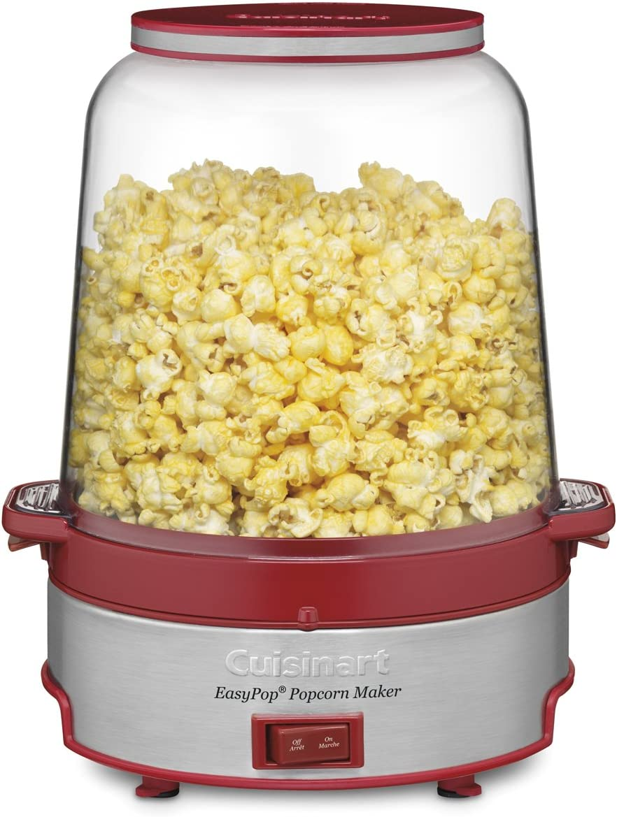 Amazon Com Red Easypop Popcorn Maker Kitchen Dining