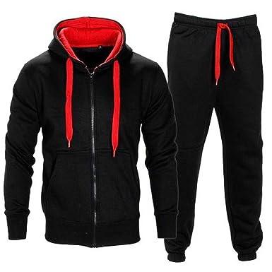 e5a2952c2ff2d Mymixtrendz® Contraste enfants Cord Toison Full Zip Up Hoodie Survêtement  Gym Jogging Suit Joggers  Amazon.fr  Vêtements et accessoires