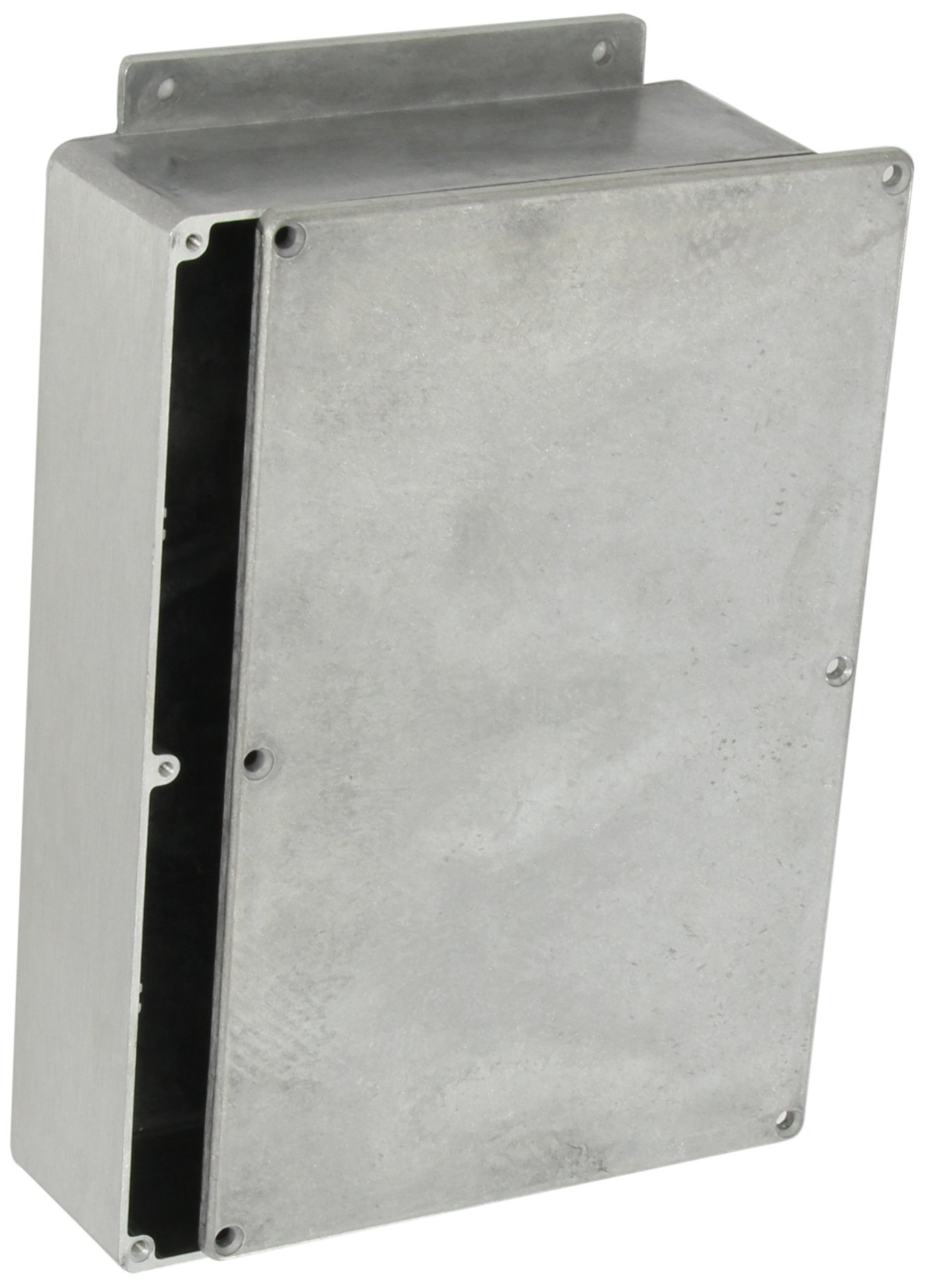 BUD Industries CN-6711 Die Cast Aluminum Enclosure with Mounting Bracket, 8-3/4'' Length x 5-47/64'' Width x 2-1/4'' Height, Natural Finish