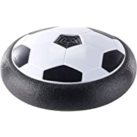 Playtastic Hoverball: Schwebender Luftkissen-Indoor-Fußball mit Möbelschutz und Farb-LEDs (Hoover Ball)