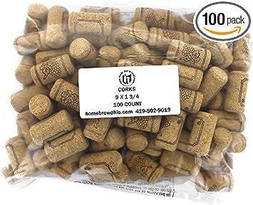 #9 Premium Corks 15//16 x 1 3//4 Bag of 1000
