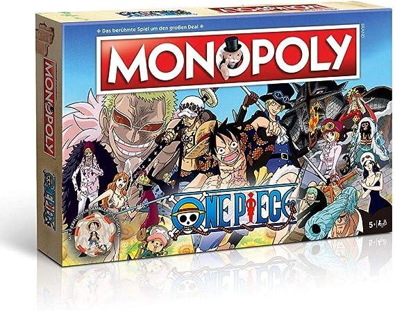 One Piece - Monopoly - Alemán Versión: Amazon.es: Juguetes y juegos