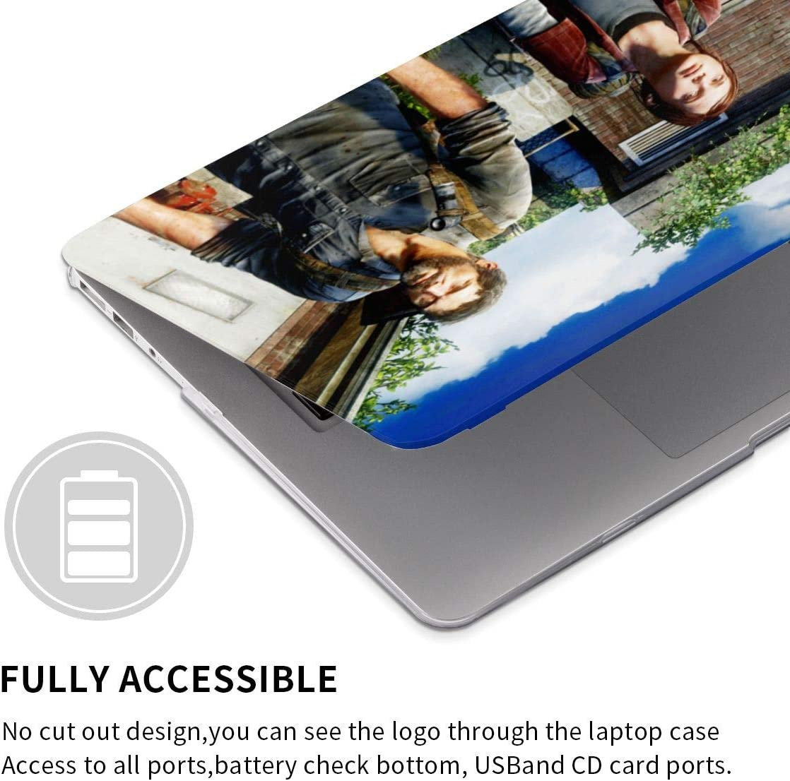 The Last of Us Laptop Shell Cover Protective Shell Slim Durable Anime Pattern Tablet Hard Case touch13